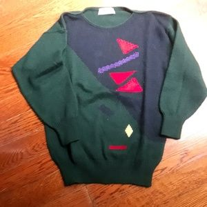90's Vintage Graphic Sweater